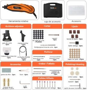 Accesorios Tacklife RTD35ACL