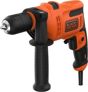 Black+Decker BEH200-QS Taladro percutor con cable 500W,